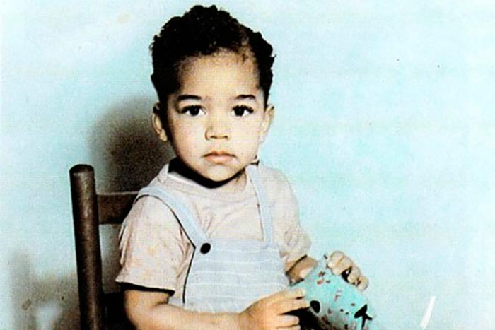 Джими Хендрикс в детстве