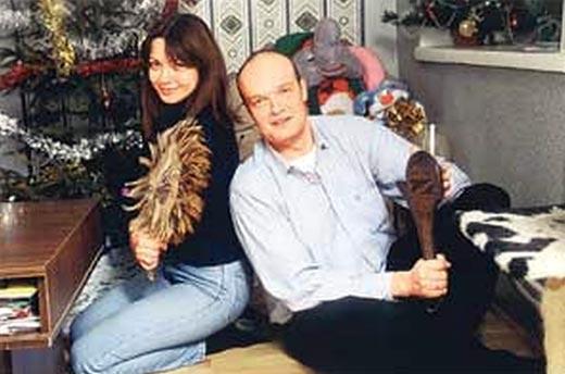 Кирилл Кикнадзе и первая жена Марина