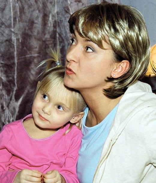 Дарья Клюшкова с дочерью