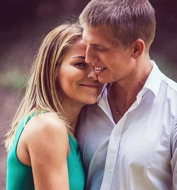 Алексей Щербаков с женой Еленой