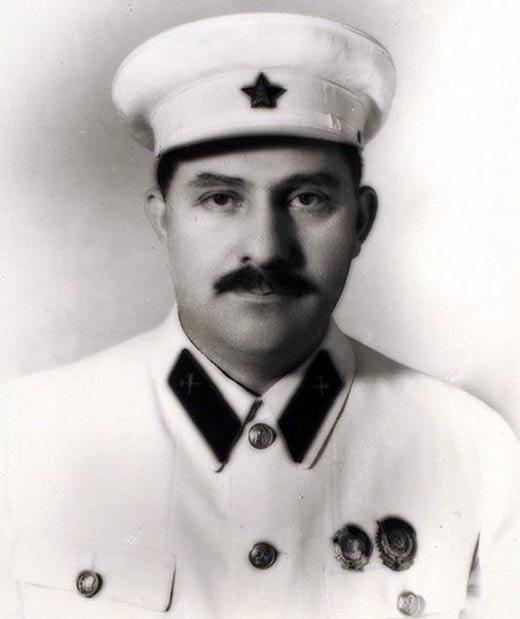 Лазарь Каганович в молодости