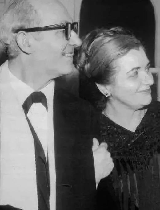 Ли Страсберг и Паула Страсберг