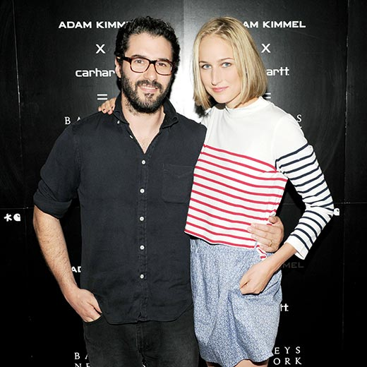 Лили Собески и Адам Киммел