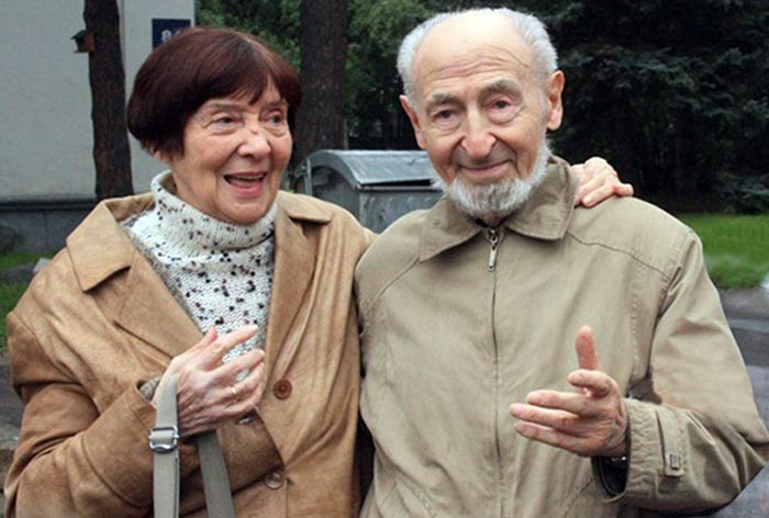 Леонид Шварцман и жена Татьяна Домбровская