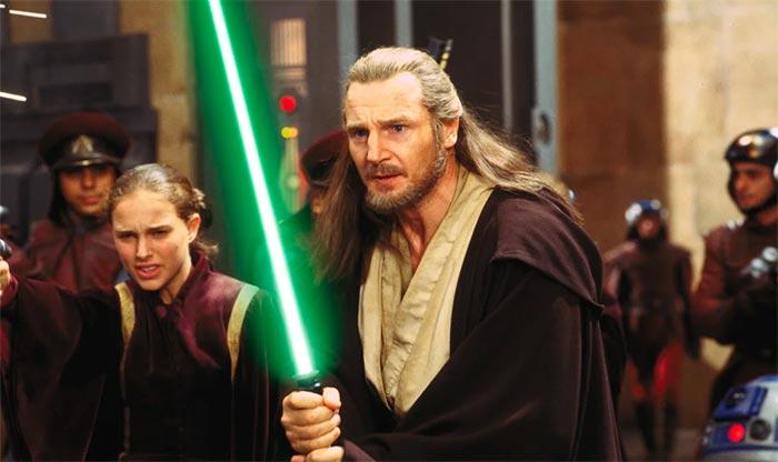Лиам Нисон Звездные войны I Скрытая угроза