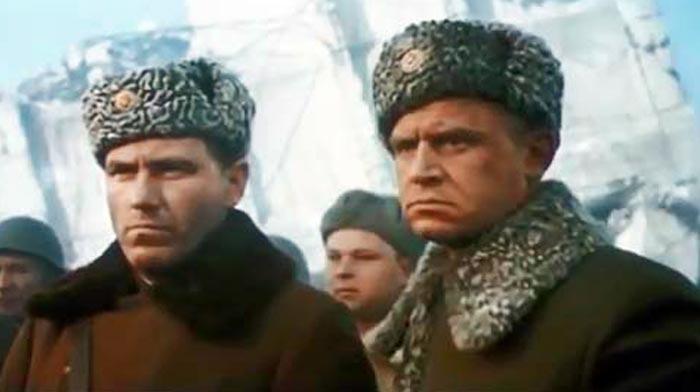Любомирас Лауцявичюс в фильме Сталинград