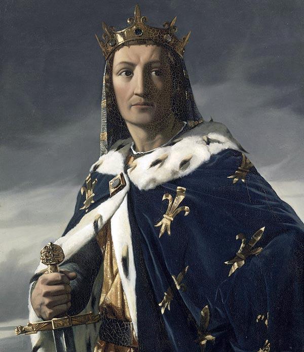 Король Франции Людовик VIII