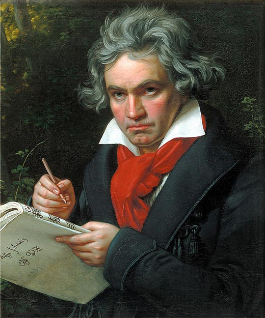 композитор Людвиг ван Бетховен