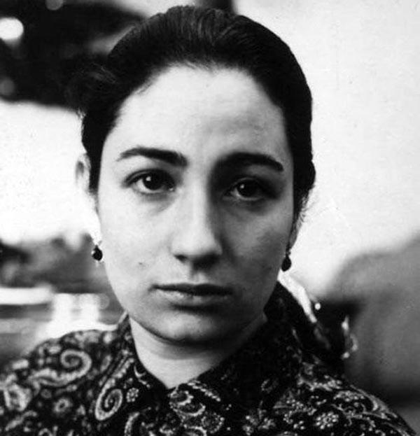 Людмила Улицкая в молодости