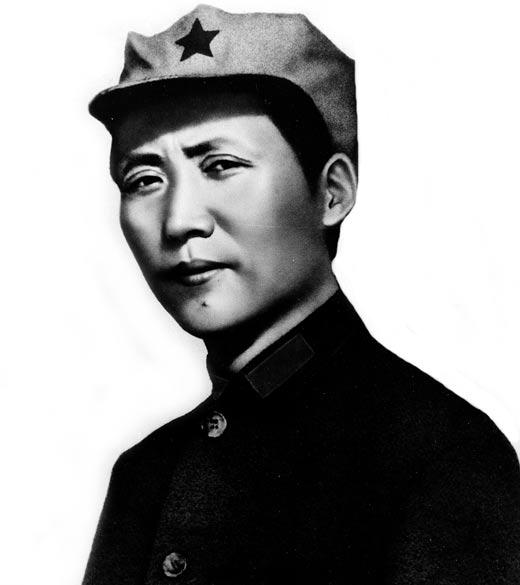 Мао Цзэдун в молодости