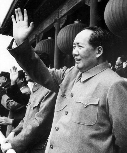 Великий кормчий Мао Цзэдун