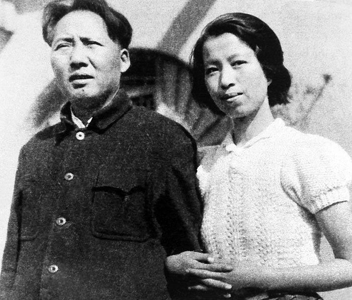 Мао Цзэдун и Цзян Цин