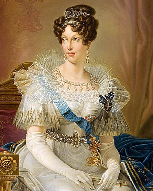 Императрица Франции Мария-Луиза Австрийская