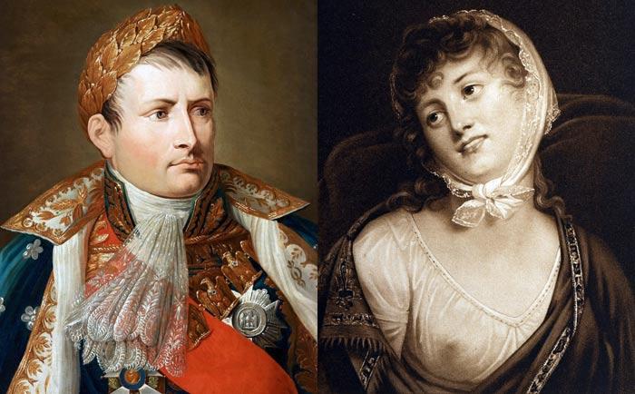 Мария Валевская и Наполеон