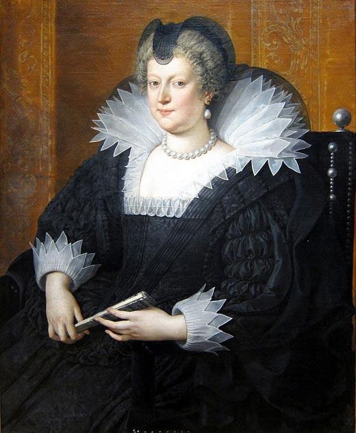 Мария Медичи вторая жена Генриха Наваррского