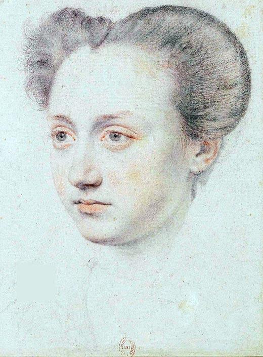 Мария Туше любовница короля Франции Карла IX