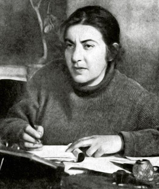 Мариэтта Шагинян в молодости