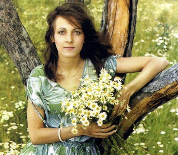 Марина Капуро в молодости