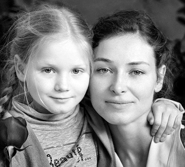 Марина Казанкова и дочь Анжелика