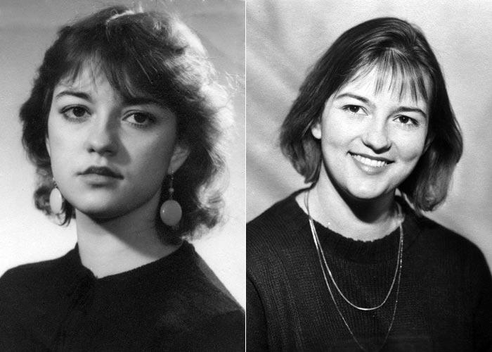 Марина Трегубович в молодости
