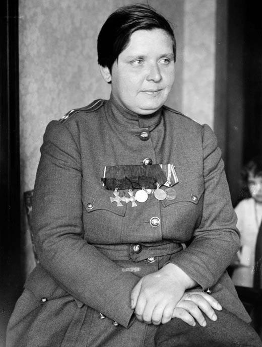 Командир ударного женского батальона смерти Мария Бочкарева