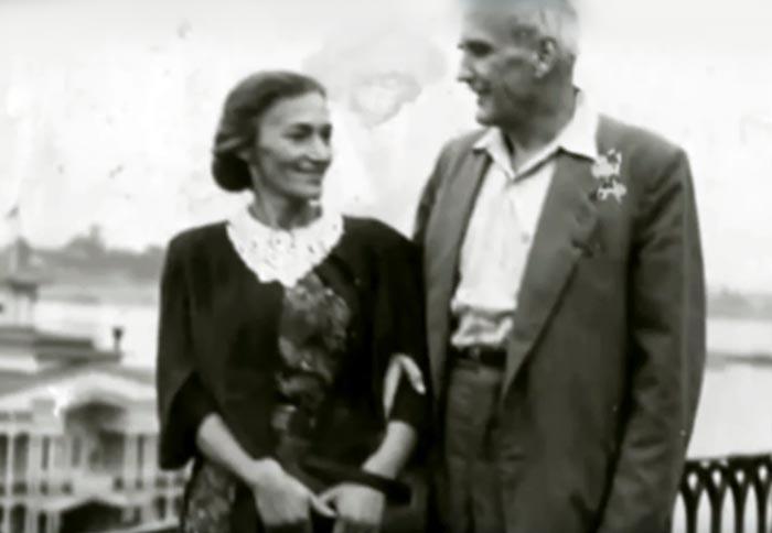 Мария Капнист и Георгий Холодовский
