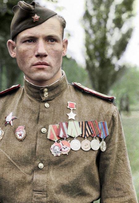 Герой Советского Союза Михаил Егоров