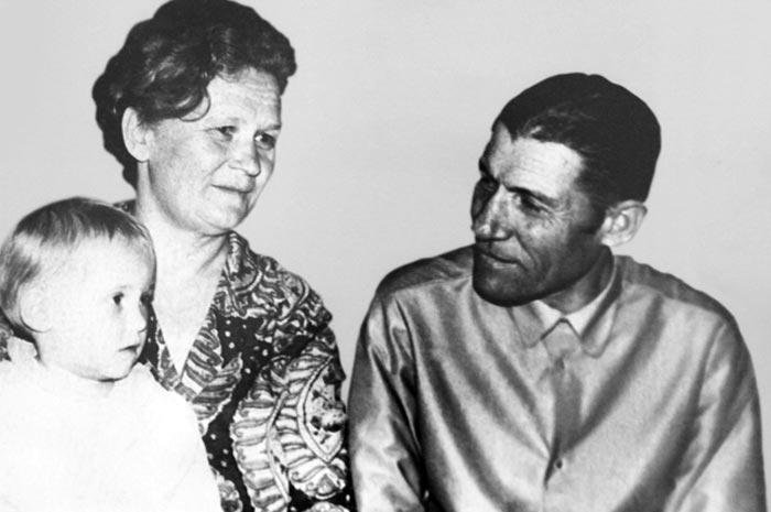 Михаил Егоров и жена Александра