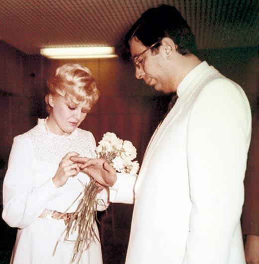 свадьба Михаила Цивина и Наталии Дрожжиной