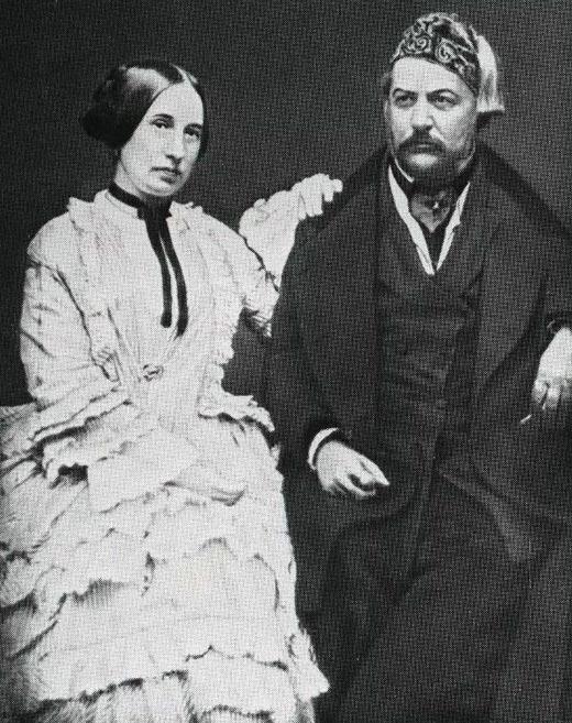 Михаил Глинка и жена Мария