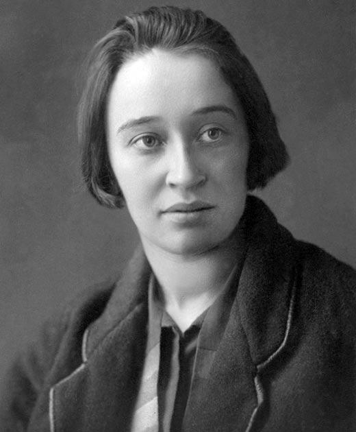 писательница Надежда Мандельштам