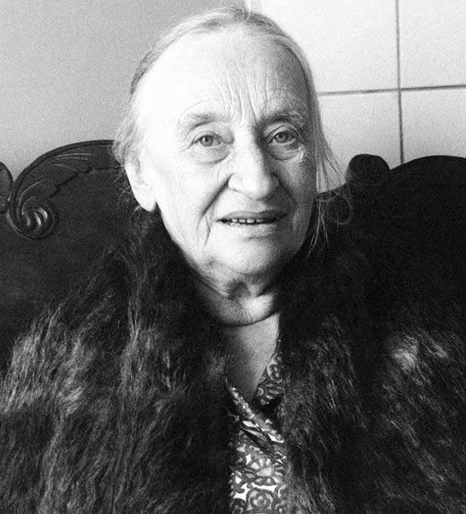 Надежда Мандельштам в старости