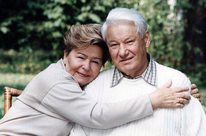 Борис Ельцин и Наина Ельцина 3