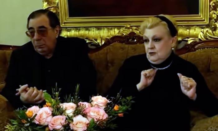 Наталия Дрожжина и муж Михаил Цивин