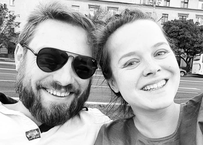 Наталия Медведева и муж Александр Коптель
