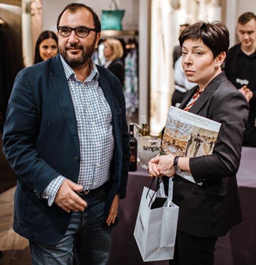 Наталья Барбье и муж Александр Галушкин
