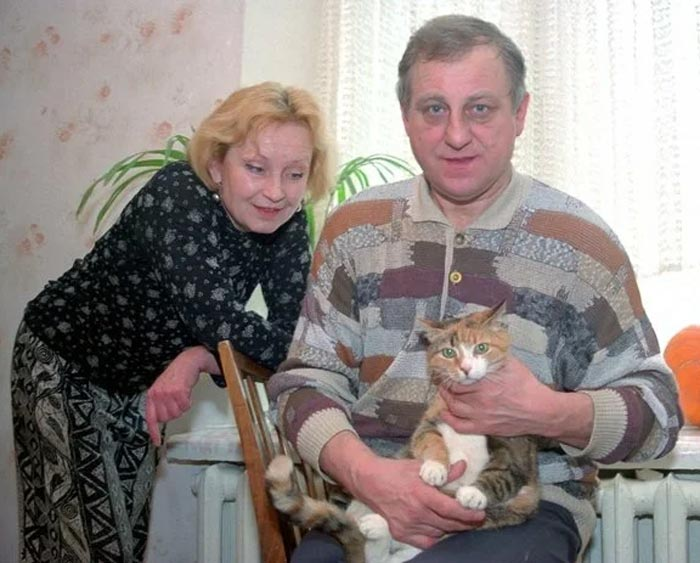 Наталья Боровкова и муж Николай Лавров