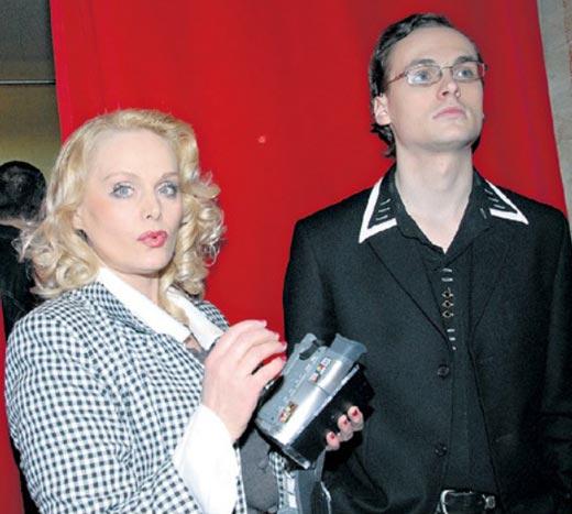 Наталья Тихонова-Егорова и сын Владимир Тихонов