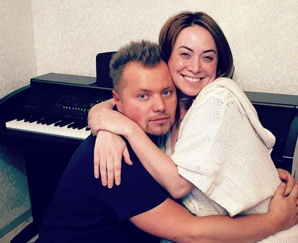 Наталья Фриске и Александр Попов