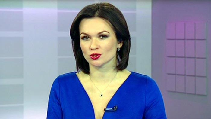 телеведущая Наталья Литовко