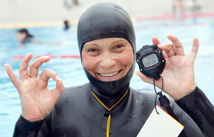 рекордсменка мира по фридайвингу Наталья Молчанова