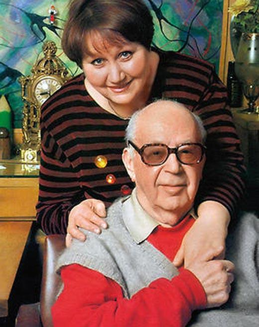 Никита Богословский и жена Алла Сивашова