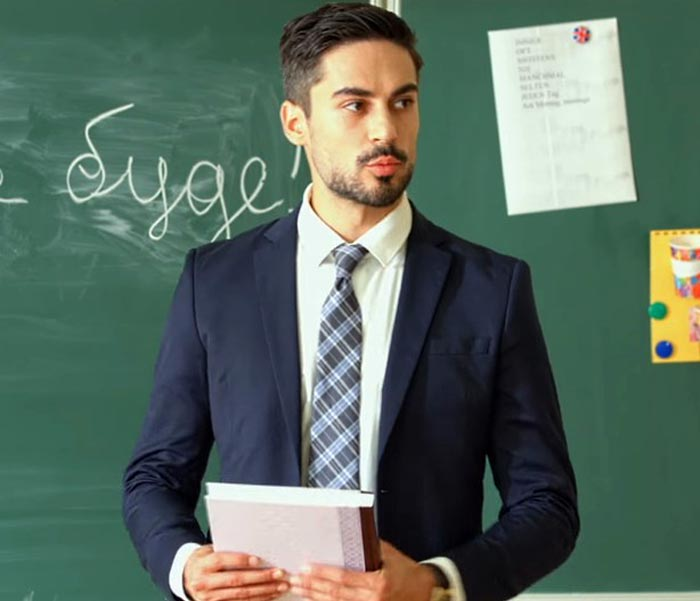 Никита Вакулюк в сериале Школа