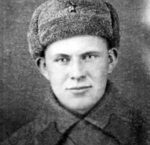 Николай Дупак в молодости