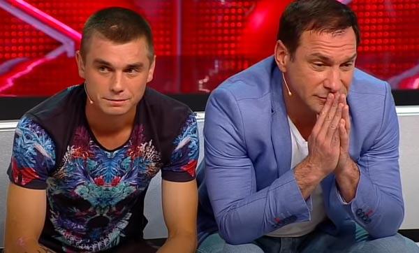 Николай Перминов и сын Андрей