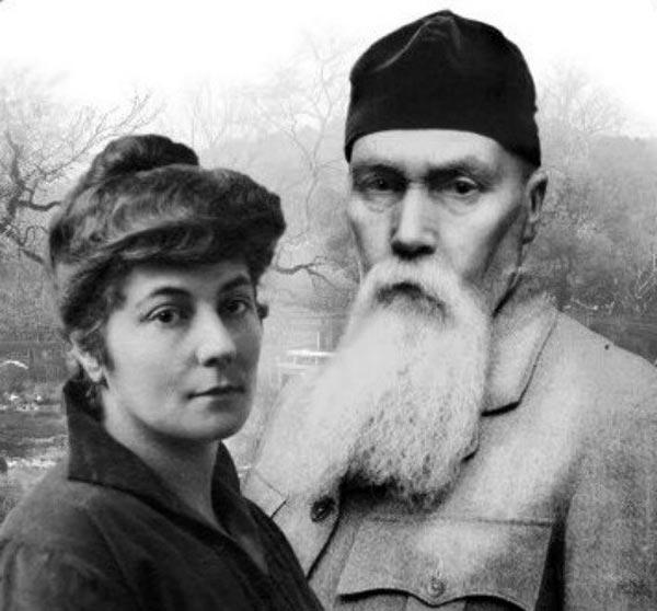 Николай Рерих и Елена Рерих