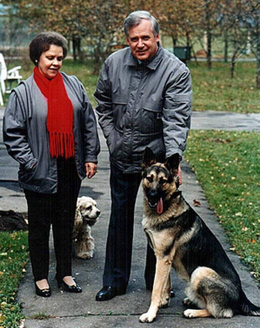 Николай Рыжков и жена Людмила