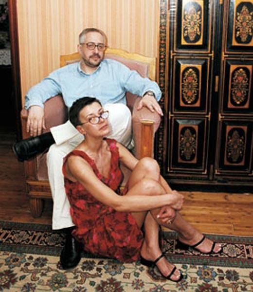 Николай Сванидзе и Марина Жукова