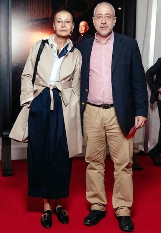 Николай Сванидзе и жена Марина Жукова