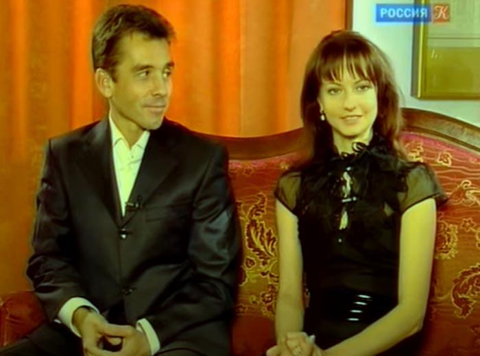 Нина Капцова и Алексей Мелентьев